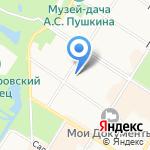 Pushkin`s fairy tales на карте Санкт-Петербурга
