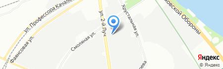 Галерея Окон на карте Санкт-Петербурга