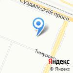 Детский сад №95 компенсирующего вида на карте Санкт-Петербурга