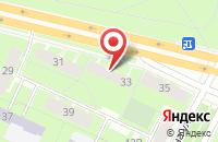 Схема проезда до компании Омега Плюс в Санкт-Петербурге