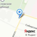 Авангард-Такт на карте Санкт-Петербурга