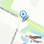 Ленинградский областной кардиологический диспансер на карте Санкт-Петербурга