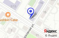 Схема проезда до компании НОУ ШКОЛА СРЕДНЕГО ОБЩЕГО ОБРАЗОВАНИЯ ГУМАНИТАРИЙ в Пушкине