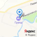 Гранд на карте Санкт-Петербурга