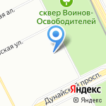 Детский сад №49 на карте Санкт-Петербурга