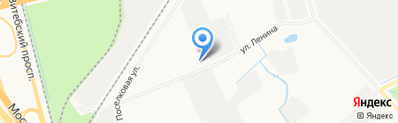 Гранат на карте Санкт-Петербурга