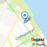 Навигатор-СБС на карте Санкт-Петербурга