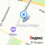 Совхоз Приневский на карте Санкт-Петербурга