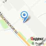 Спецгидросервис на карте Санкт-Петербурга