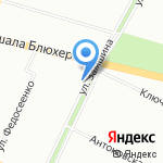 Салон мобильных телефонов и аксессуаров на карте Санкт-Петербурга