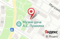 Схема проезда до компании Руст в Санкт-Петербурге