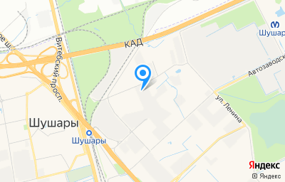 Местоположение на карте пункта техосмотра по адресу г Санкт-Петербург, п Шушары, ул Ленина, д 1Б литер б