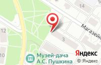 Схема проезда до компании РУССКИЙ ДЖИП в Пушкине