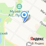 Пенсион-сервис на карте Санкт-Петербурга