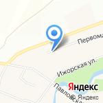 Red-стиль на карте Санкт-Петербурга