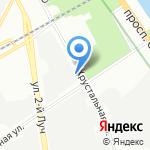 Айртехно на карте Санкт-Петербурга