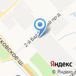 Горизонталь на карте Санкт-Петербурга