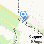 Рас-тишки на карте Санкт-Петербурга
