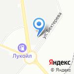 Норд-Поинт на карте Санкт-Петербурга