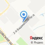 БАВ-Движение на карте Санкт-Петербурга