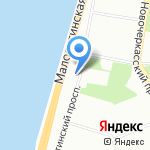 Малоохтинский дом трудолюбия на карте Санкт-Петербурга