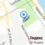 Санкт-Петербургский национальный исследовательский университет информационных технологий на карте Санкт-Петербурга