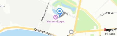 Stop Express на карте Санкт-Петербурга