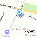 Дамская удача на карте Санкт-Петербурга