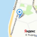 Агентство экономического развития Ленинградской области на карте Санкт-Петербурга