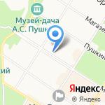 Пушкинская Ветеринарная Клиника на карте Санкт-Петербурга