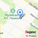 Оптикэнергострой на карте Санкт-Петербурга