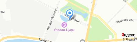 Абсолют Строй Проект на карте Санкт-Петербурга