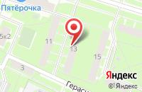 Схема проезда до компании Деловые Люди в Санкт-Петербурге