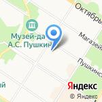 Сказки Пушкина на карте Санкт-Петербурга