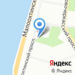 Часовня Марии Магдалины на карте Санкт-Петербурга