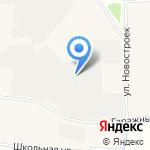 Лежар на карте Санкт-Петербурга