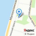 Часовня Успения Пресвятой Богородицы на карте Санкт-Петербурга