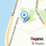 ЭСАБ на карте Санкт-Петербурга