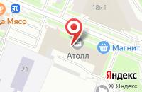 Схема проезда до компании Арм-Проект в Санкт-Петербурге