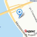ПСК РБС на карте Санкт-Петербурга