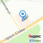 МТС на карте Санкт-Петербурга
