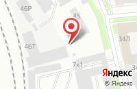Схема проезда до компании Энергомашсервис в Санкт-Петербурге
