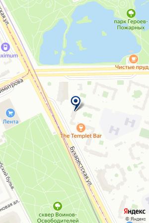 Студия МИР на карте Санкт-Петербурга