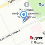 Пилигрим на карте Санкт-Петербурга