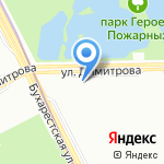 Жилкомсервис №2 Фрунзенского района на карте Санкт-Петербурга