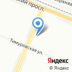 Двери Невада на карте Санкт-Петербурга