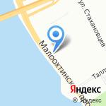 Музыкальная Планета на карте Санкт-Петербурга