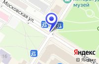 Схема проезда до компании АНО ЦЕНТР РАЗВИТИЯ РЕБЕНКА РУКАВИЧКА в Пушкине