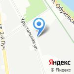 Юнион Электрик на карте Санкт-Петербурга
