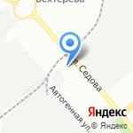 Автопродикс Рено на карте Санкт-Петербурга
